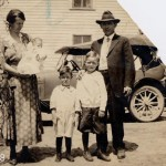 Mary Kott, holding Kenneth Kott, Clifford Kott, Norman Kott & August Kott