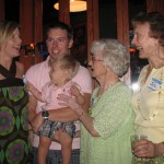 Five generations attended the party.
