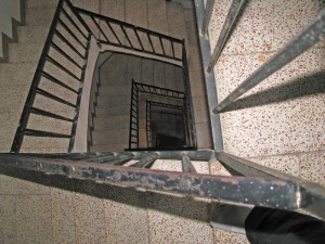 barcelonaapartmentstairwell