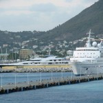 Looking back at St. Maarten