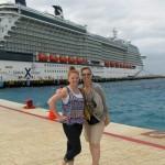 Pier in Cozumel