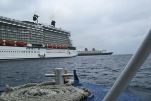 Celebrity Silhouette and Disney Wonder