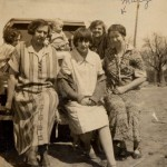 Front - Mary (Fred Kott's wife), Dorothy Kott and Mary Kott   Back:  Gladys, Richard?? & ??