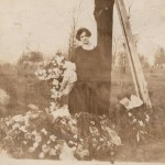 Believed to be Mary Kott (my Great Grandmother) after the death of her husband Fred.