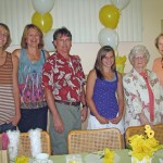 Great Grandma with Aunt Jeri, and cousin Jim's family