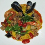 Safron Rice and Seafood