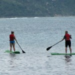 Stand up paddleboarding is easy and fun